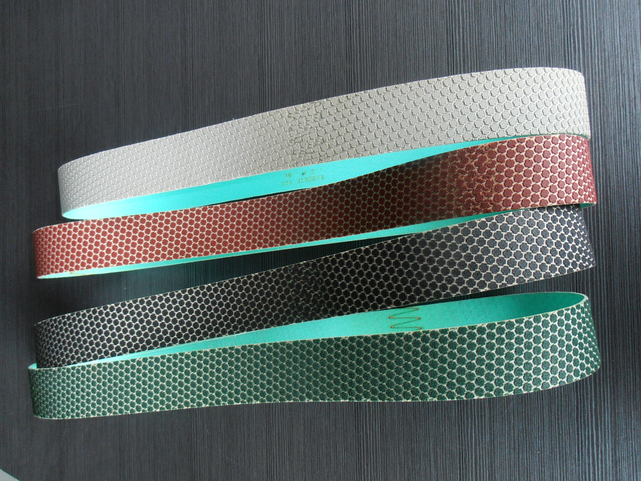 Diamond Belts For Grinding And Polishing Extremely Hard