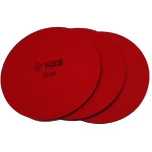KGS Rubber Backer Pads 180mm