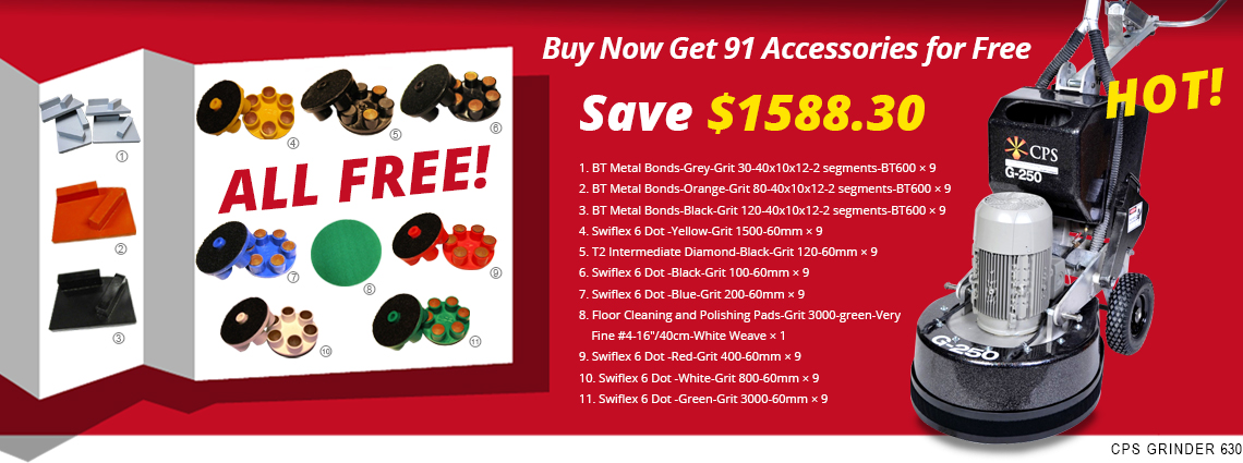Buy Now Get 91 Accessories for Free, Save $1588.30